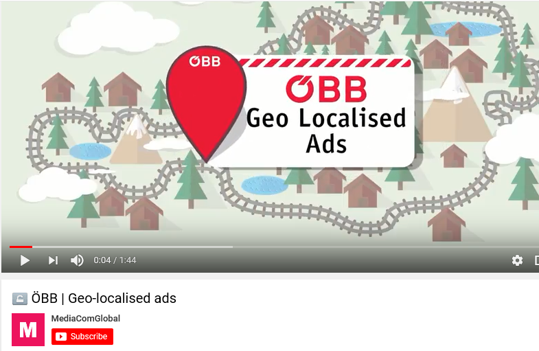 Geo-localised ads