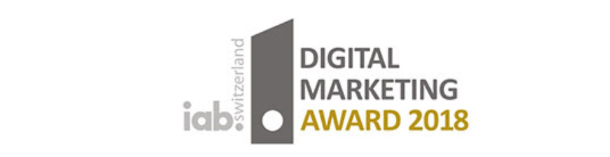 Digital Marekting Award 2018 iab Switzerland