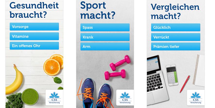 CSS-Schweiz-Kampagne auf Basis von Realtime Attribution (Bild 1)