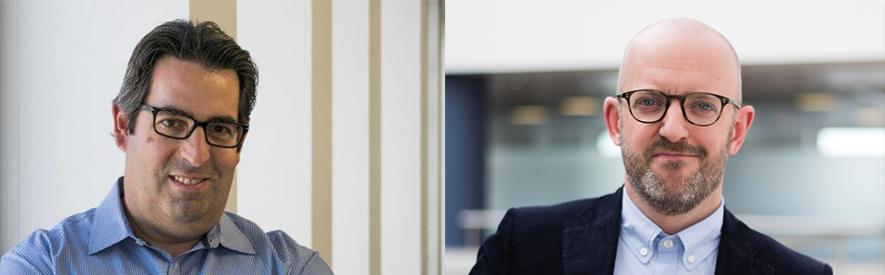 Chris Hayek, Global Head of Connections, Shell; Alastair Bannerman, Global Category & Client President, MediaCom